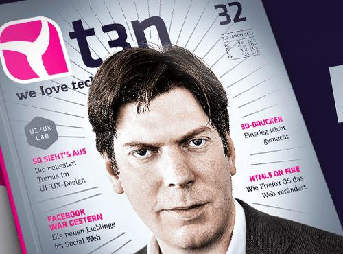 t3n Magazin Ausgabe 32 - Flat Design