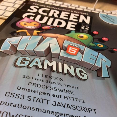 Screenguide Cover Ausgabe 22