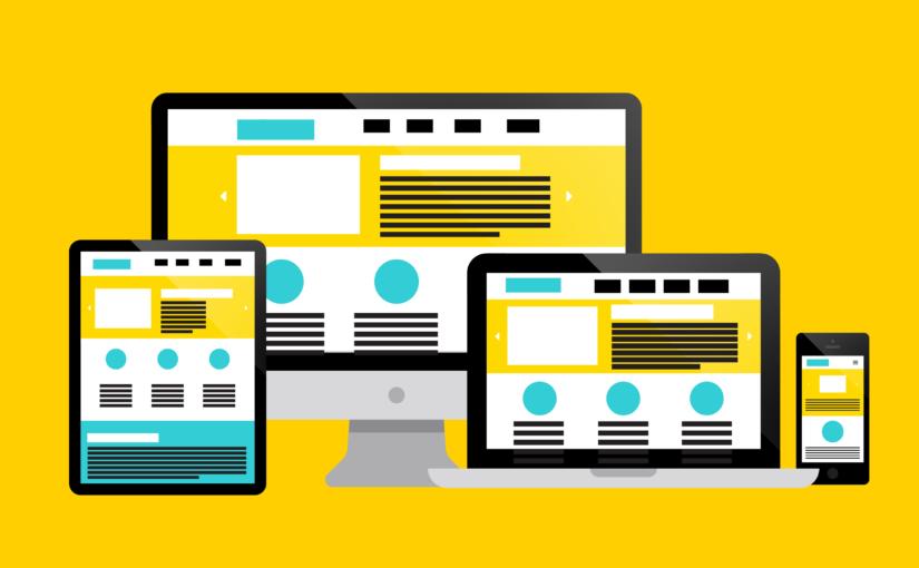 Responsive Webdesign Infografik